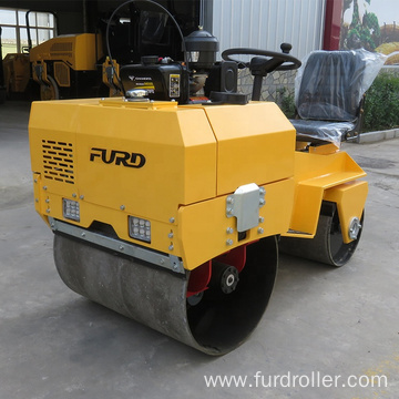 Mini price road roller compactor hydraulic double drum vibratory road roller FYL-855