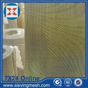 Fine Brass Mesh Screen