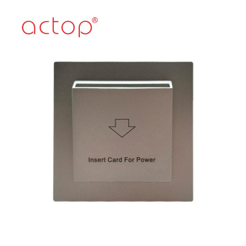 Smart hotel saving power