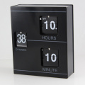 Black Book Flip Clock zum Dekorieren