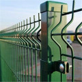 galvanized bending garden border fence