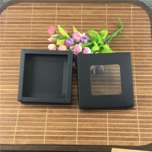 private label packaging box transparent box bag packaging