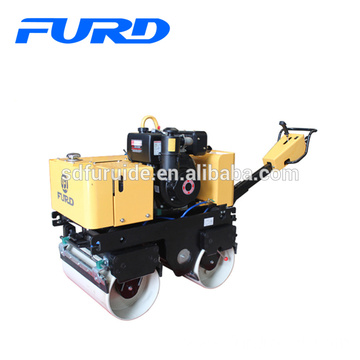 Hydraulic Transmission Hot Sale New Hand Vibrating Roller (FYL-800C)