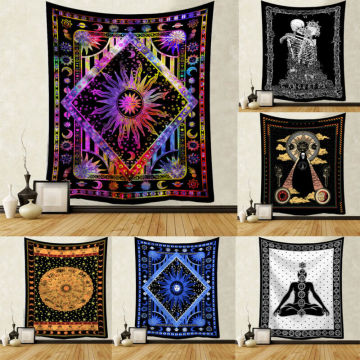 Tapestry Wall Hanging Polyester Mandala Pattern Blanket Tapestry Home Decor New