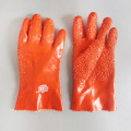 Orange non-slip pellet gloves 905