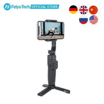 FeiyuTech Official Vlog Pocket 2 MINI Handheld Smartphone Gimbal Stabilizer selfie stick for iPhone 11 XS XR 8 7, HUAWEI P30 pro