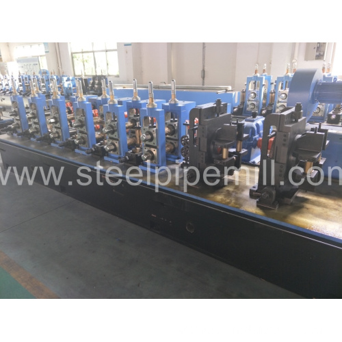 precision rectangle pipe wedling machine