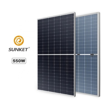 Monocrystalline Solar Panel 550W for power Panel System