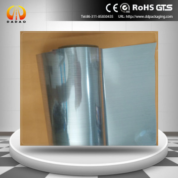 brushed metallized polyester roll