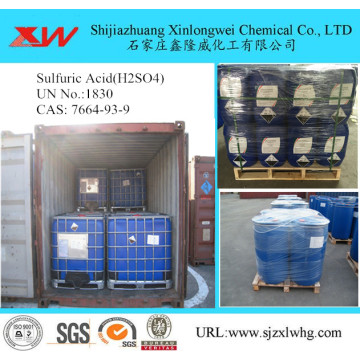 Sulphuric acid IBC drum package