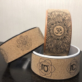 Natural Cork yoga wheel