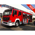 Exporting Algeria SINOTRUCK powder fire fighting truck