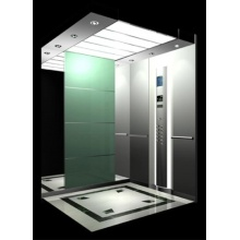 Luxury building passenger lift with CE