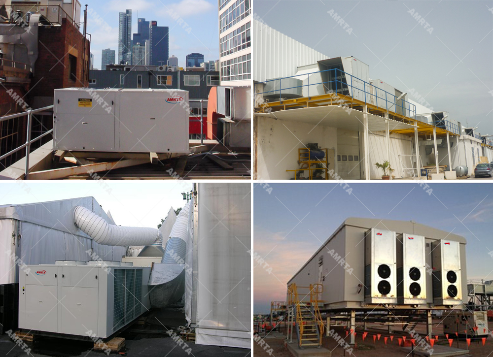 45kW Vertical type rooftop packaged unit
