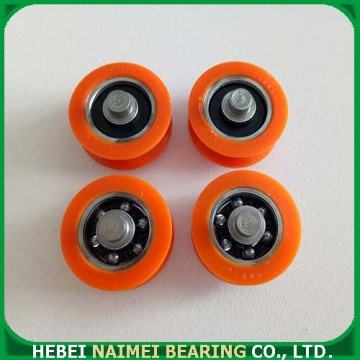 sliding door and window roller with bearing