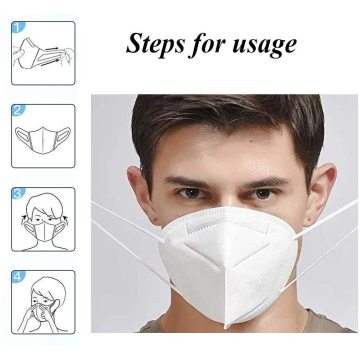 Protective Mask KN 95 Standard avoid Pollution Breathable Gas Allergies Safety Equipment