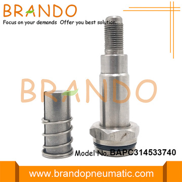 3 Way 14.5mm OD Thread Stainless Steel Armature
