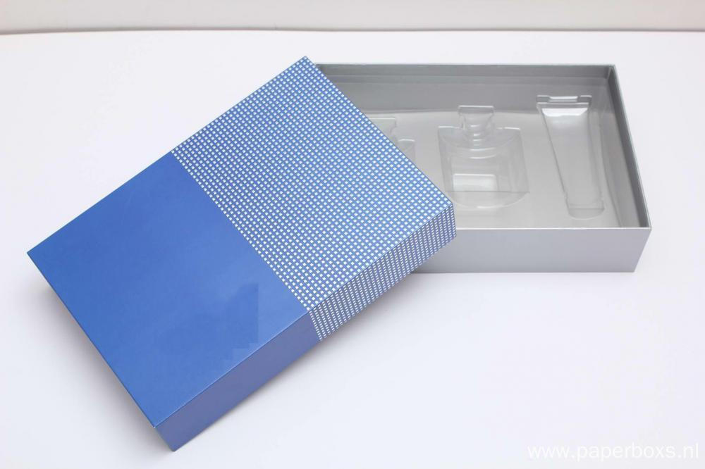 UV Printing Skin Care Kit Cosmetic Paper Box