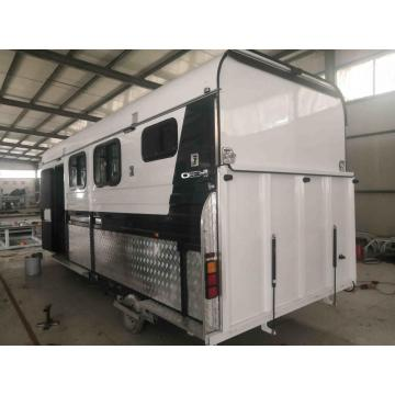 Two Horse Angle Load Horse Camper Floats