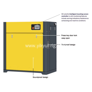 22KW fixed speed screw air compressor