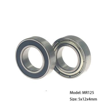 DNBB Bearings 10pcs ABEC-1 MR125ZZ 10pcs ABEC-3 MR125ZZ 10pcs ABEC-5 MR125ZZ 10pcs ABEC-5 MR125RS 5x12x4 Miniature Ball Bearing