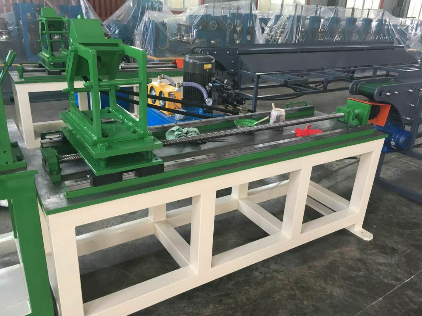 light keel machine