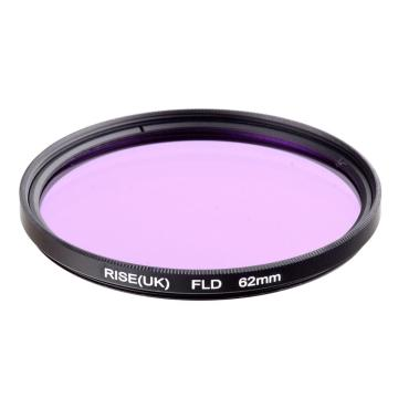 RISE(UK) 62MM Florescent Lighting Daylight FLD Filter for DSLR SLR Camera lens