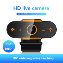 1080P HD Webcam Mini Computer PC WebCamera with Microphone Rotatable Cameras for Live Broadcast Video Calling Conference Work