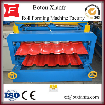 Galvanized Metal Roof Sheet Roll Forming Machine