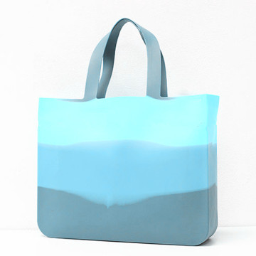 Waterproof Silicone Hand Tote Women Beach Bag