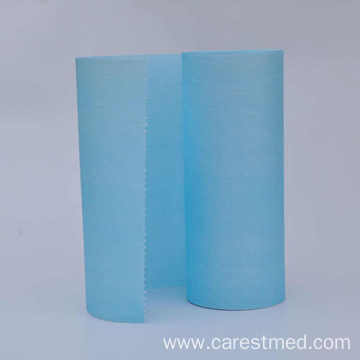 Disposable water proof medical bed sheet rolls paper+PE film material