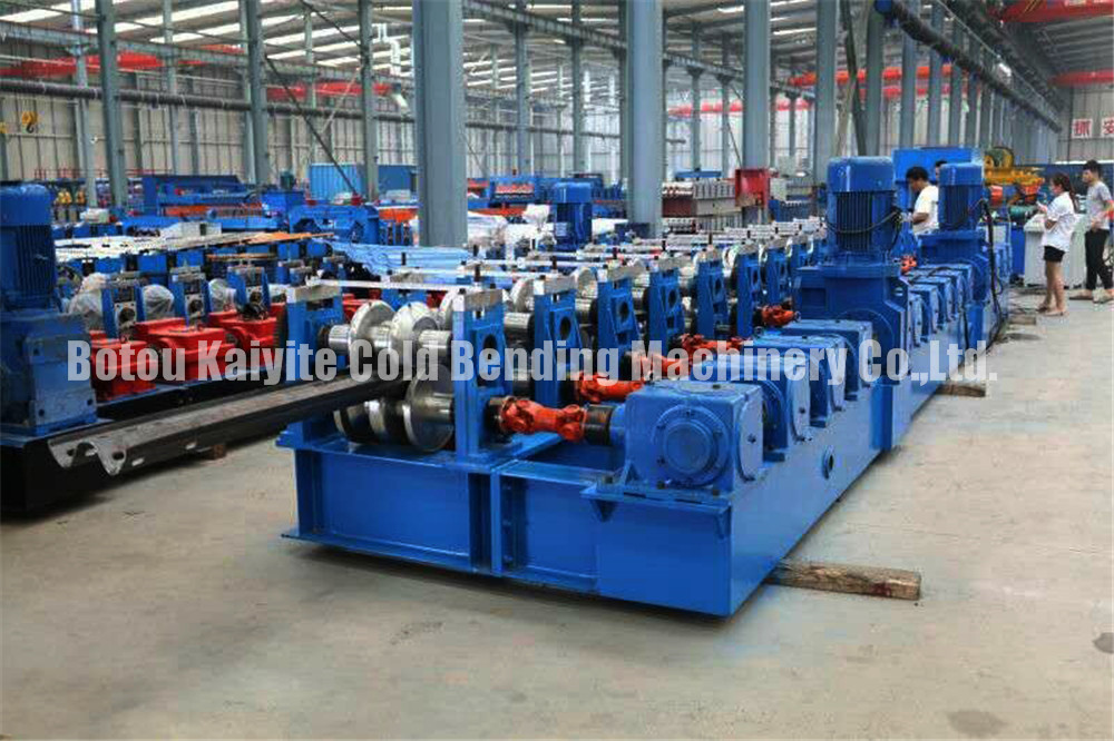 Highway Guardrail Making Machine