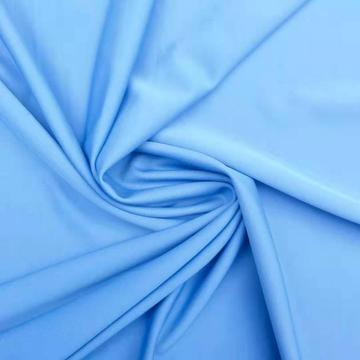 Custom 96% Poly 4% SPAN Dyed Clothing Fabric