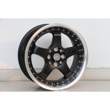 Black Milling Lip wheel rim Tuner