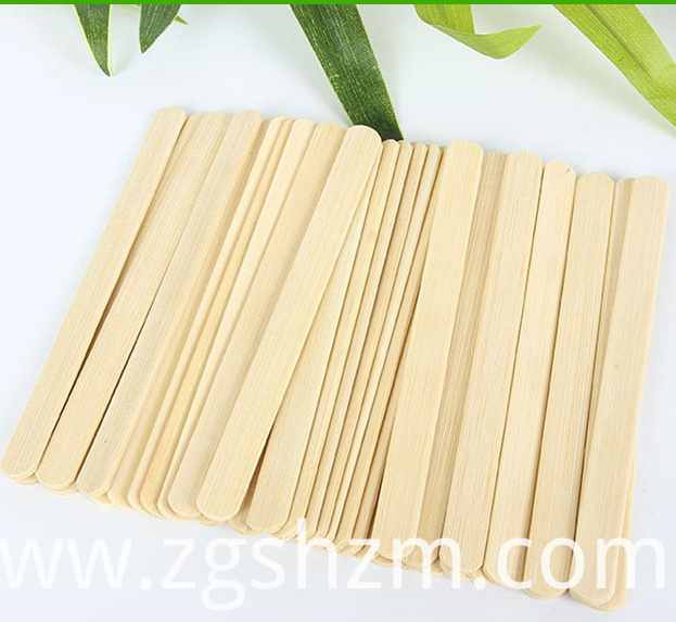 Bamboo Popsicle Stick