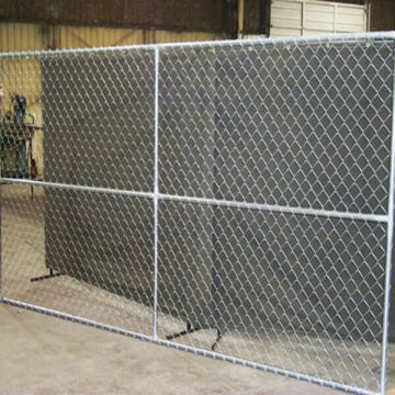 Hot Dipped Road Safety Retractable Galvanized Temporary Fence Designs Panel