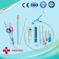 Double Lumen hemodialysis catheter kit