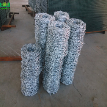 Galvanized Twist Barbed Wire Usd for Protecting Fence