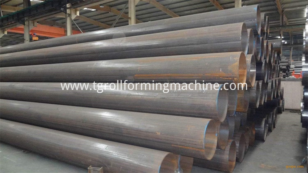 Round Tube Machine Pipe Production Line
