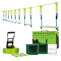 GIBBON Ninja Warrior Line Obstacle Course Kit Monkey