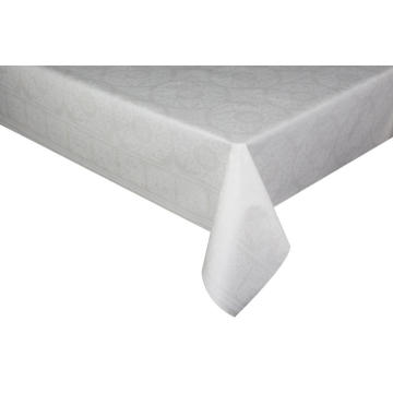 Elegant Tablecloth Gingham with Non woven backing