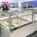 6 Pans Gelato ice cream Display Cabinet
