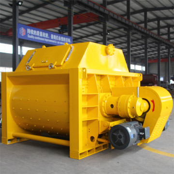 Twin shaft electricJS concrete mixer price machine