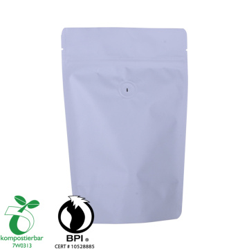 Printed 250g Eco Friendly coffee valve bag Recyclable bag