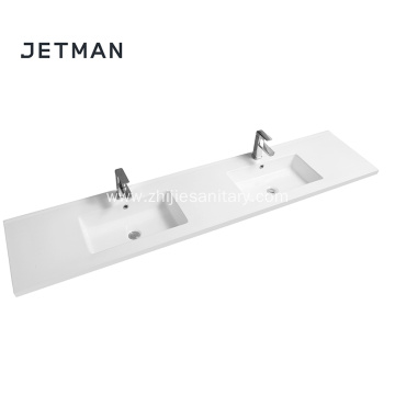 ceramic hand bathroom double wash basin