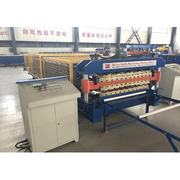 Poland style PPGI Roof Sheet Forming Machine