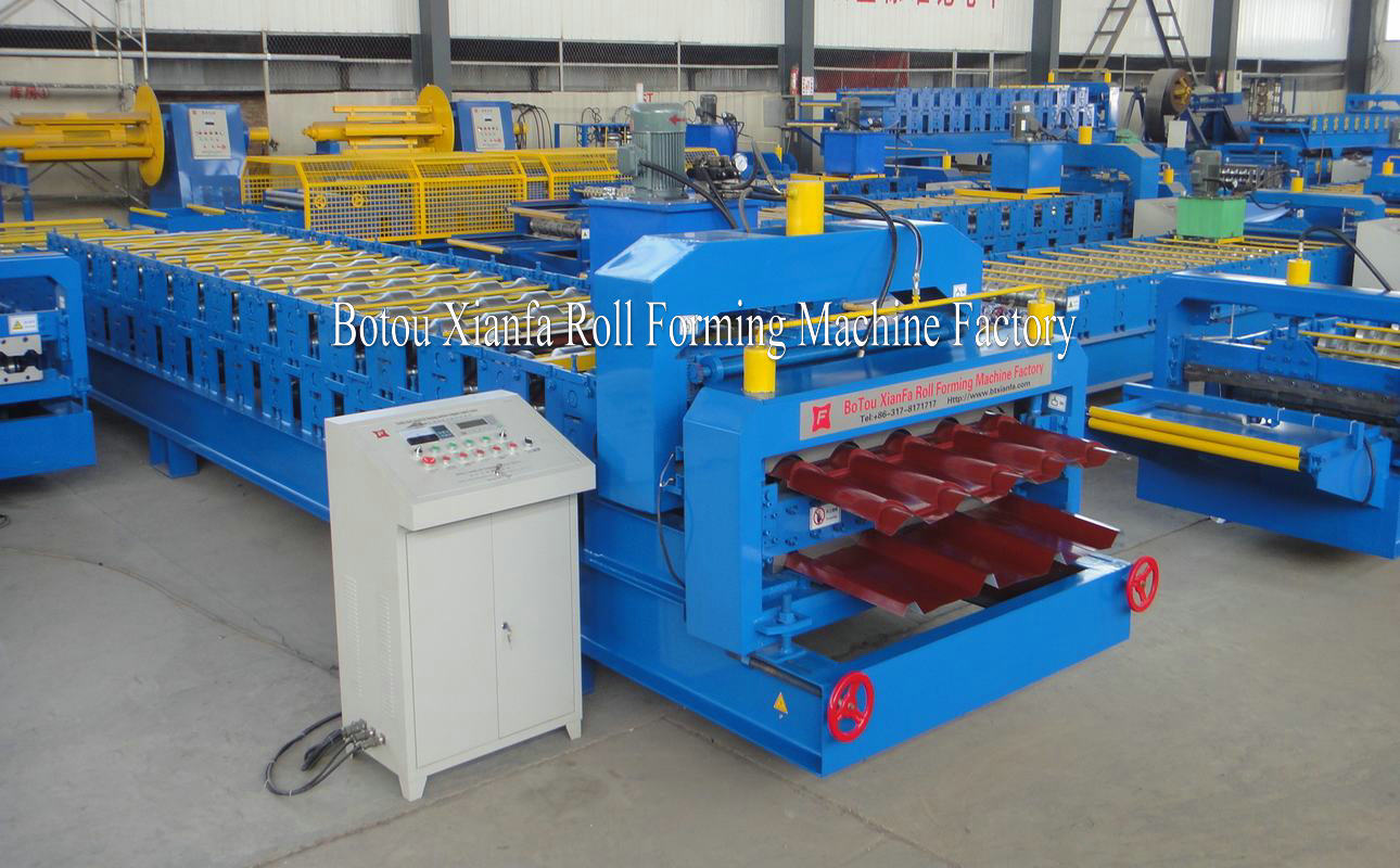 Roof Corrugate Machine