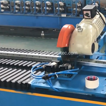 Perforated metal octagonal tube roll forming machine