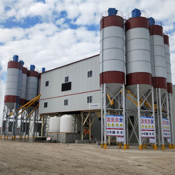 Modular high quality automatic concrete mixing plant