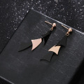 Stainless Steel Fashion Simple Womens Dangle Earrings